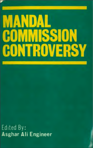 Mandal commission controversy